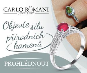 Zásnubní prsteny s přírodními drahými kameny