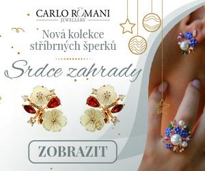 Kolekce šperků SRDCE ZAHRADY od CARLO Romani