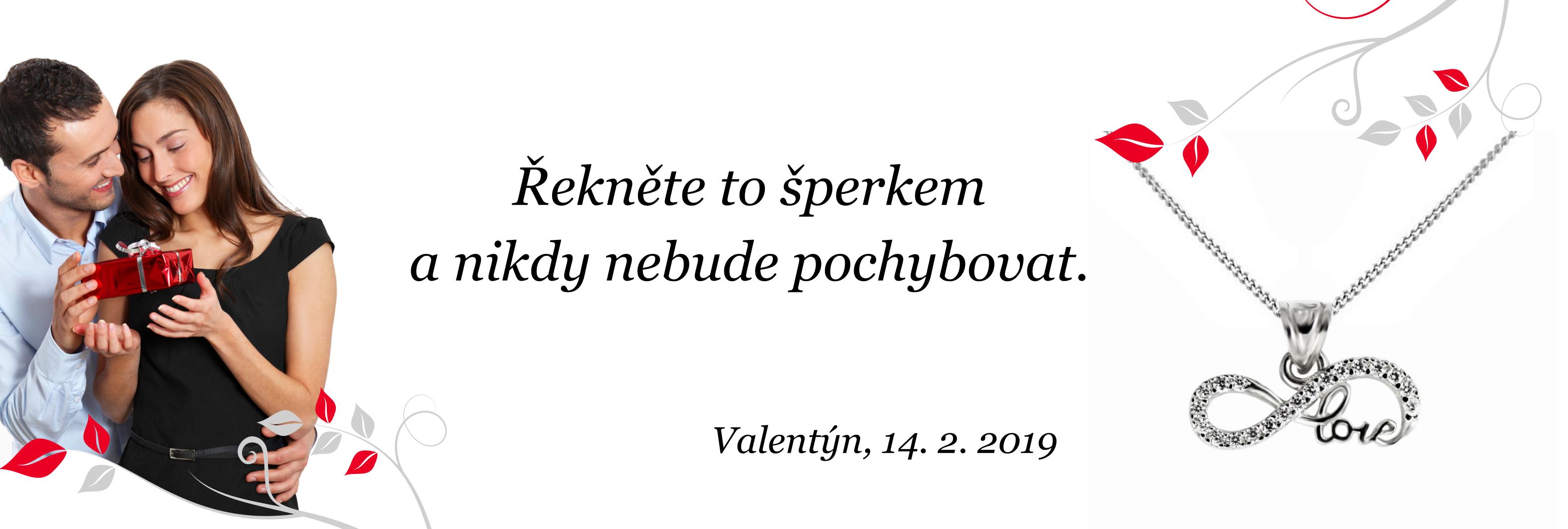 Valentýn 2019 - řekněte to šperkem a nikdy nebudete pochybovat