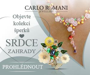 SRDCE ZAHRADY - KOLEKCE ŠPERKŮ OD CARLO ROMANI