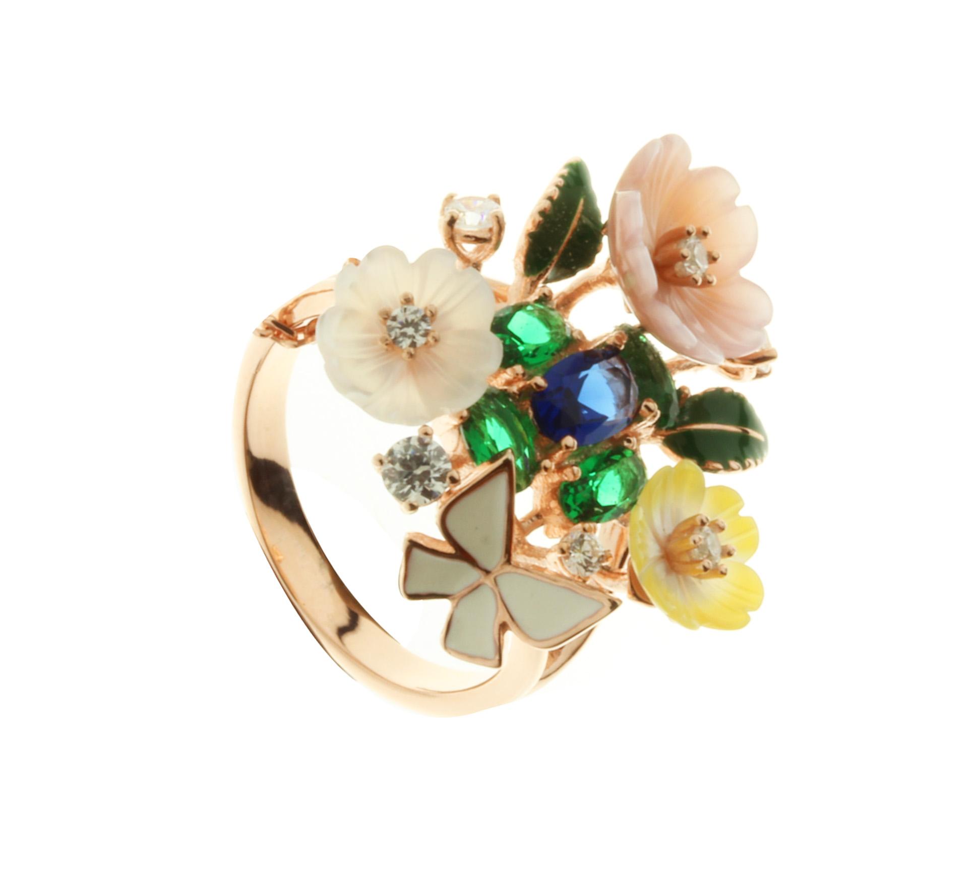 Prsteny z kolekce Srdce zahrady