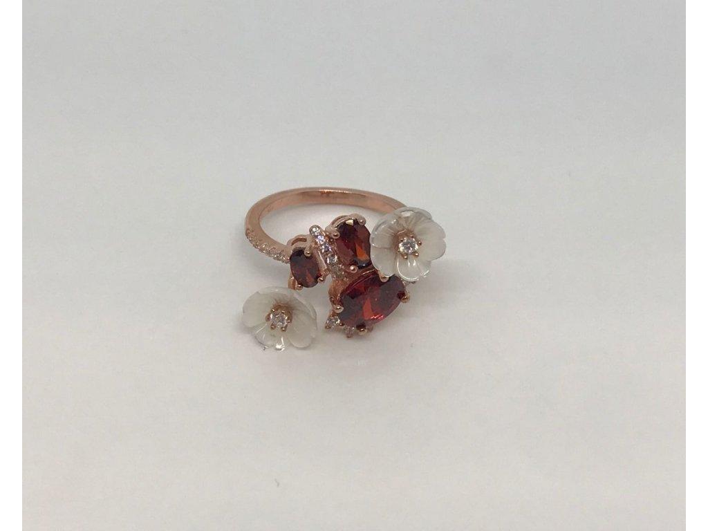 Stříbrný prsten FABULOUS z kolekce Srdce Zahrady