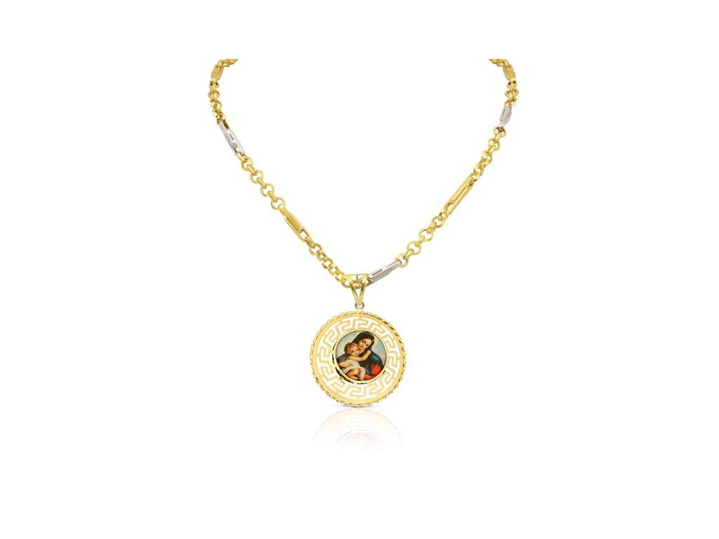 9410 9 zlaty prives madona s retizkem kl 01 pe