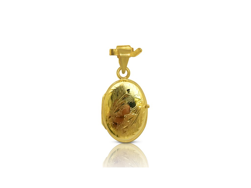 9419 6 zlaty prives medailon oteviraci kl 05 pe