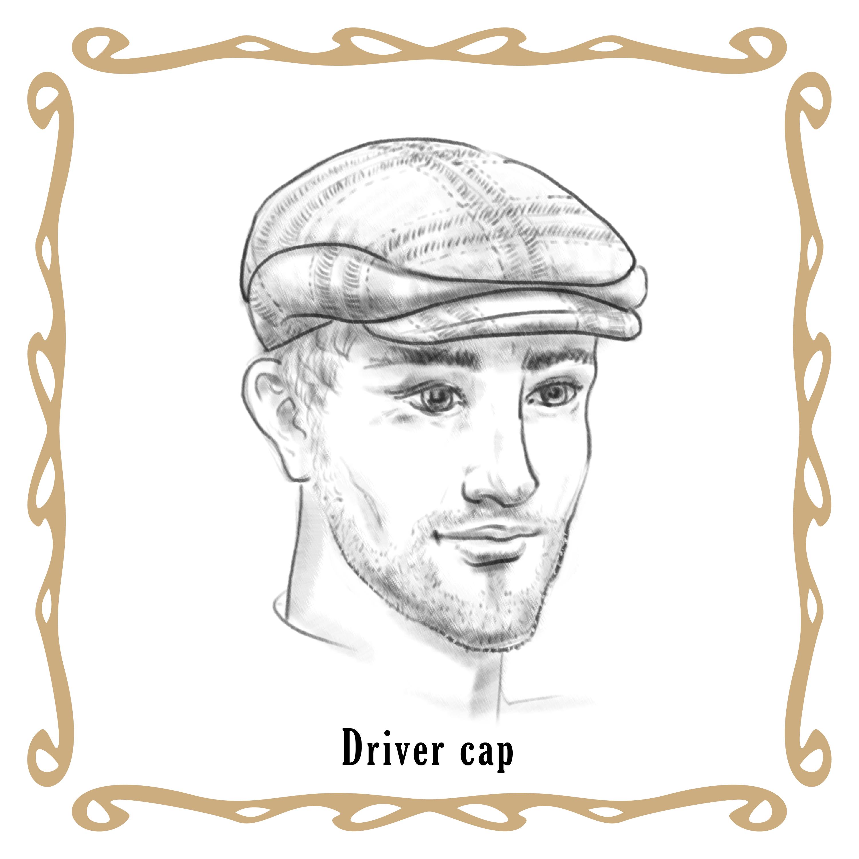 Driver cap, flat cap, bekovka. Jak si vybrat a nosit bekovku?