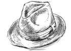 Fedora - klasický letní pánský klobouk