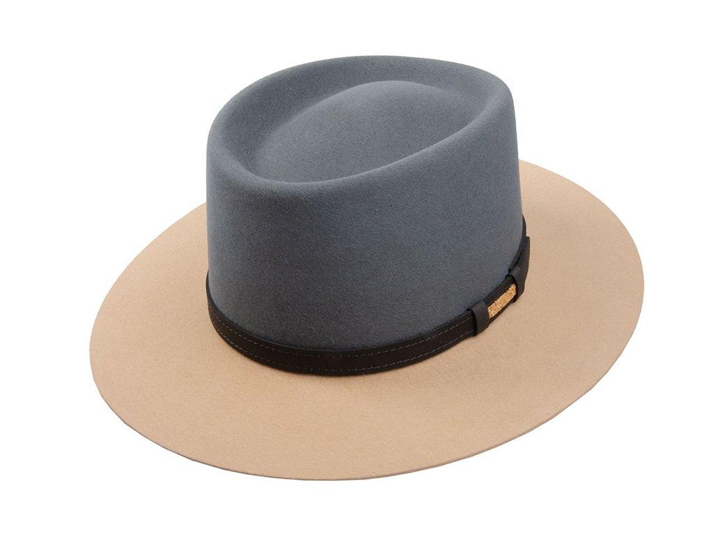 1273318 Q8028 1 plsteny klobouk bezovy sedy