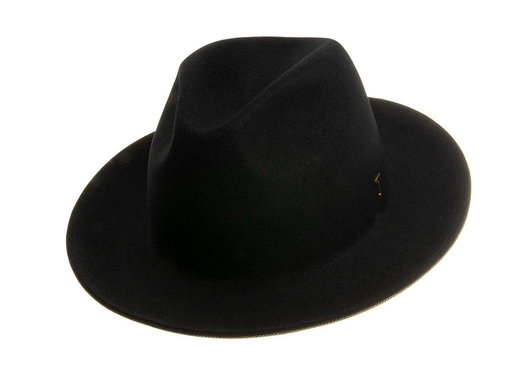 1275518 Q9040 1 plsteny klobouk cerny