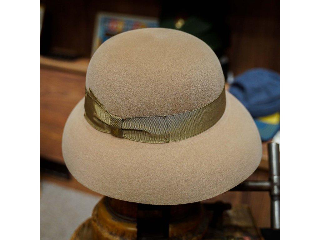 Dámský béžový klobouk Borsalino - Audrey Velour