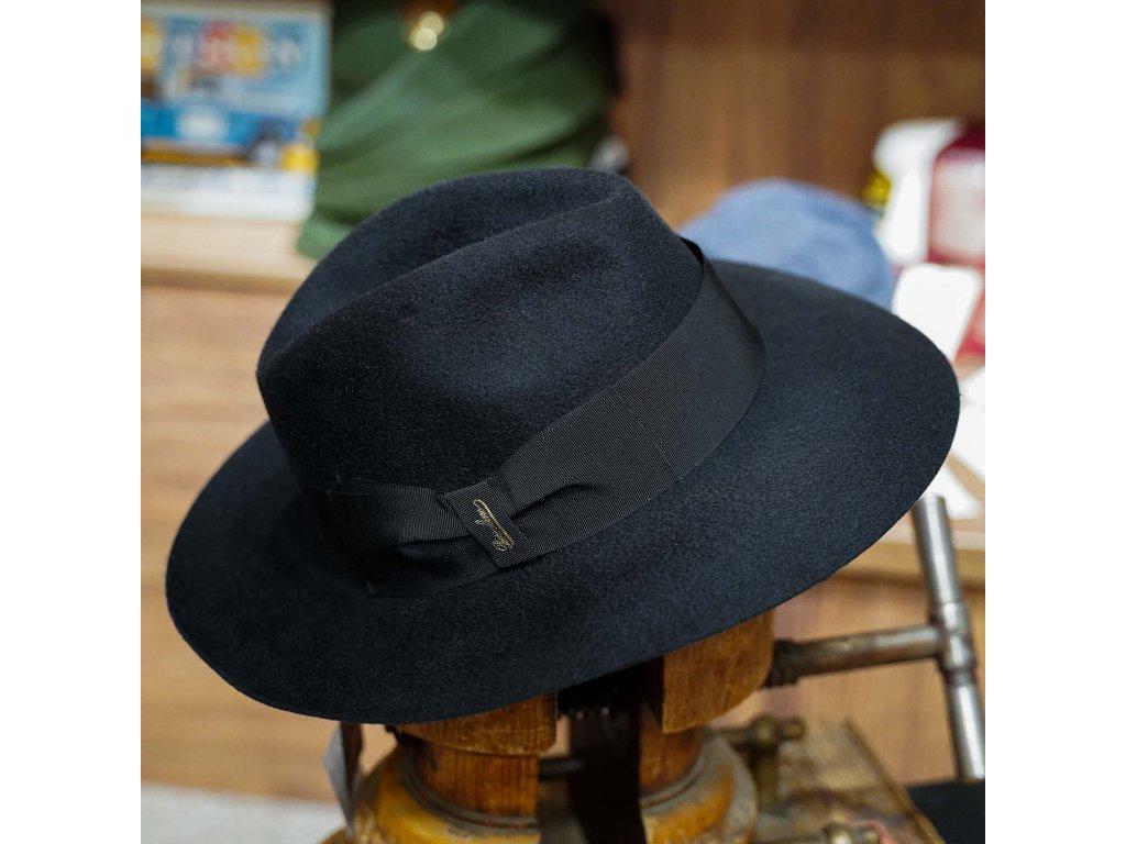 Kašmírový luxusní klobouk Borsalino - limitovaná kolekce Borsalino