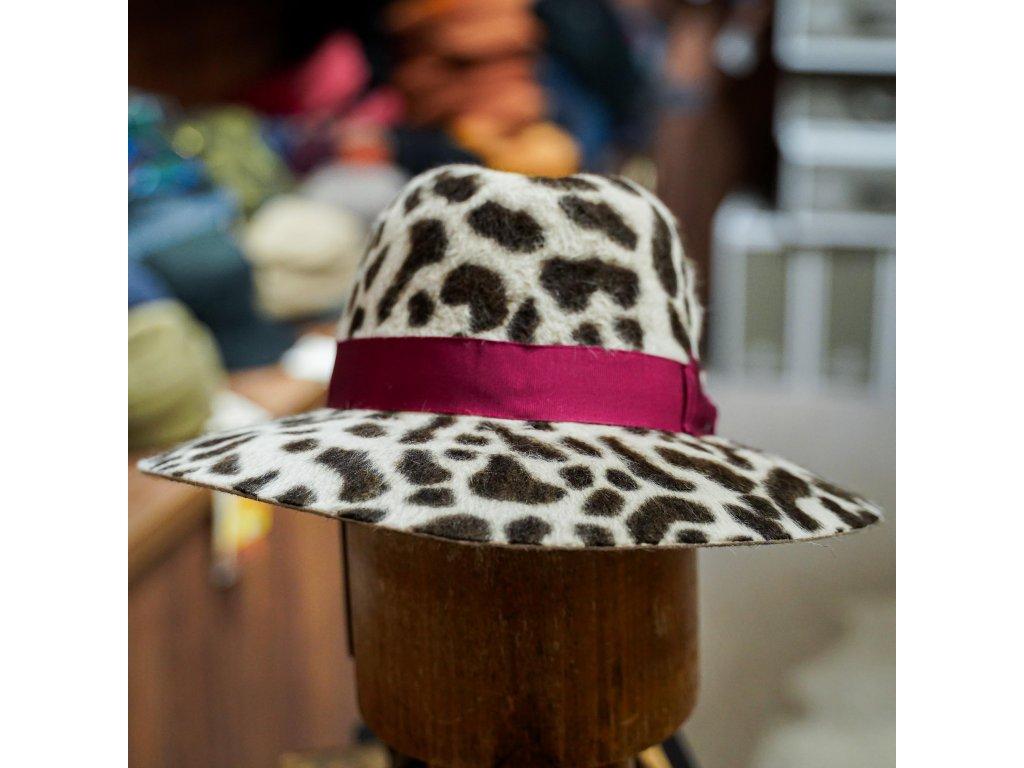 Animalier Claudette - dámský klobouk Borsalino se zvířecími motivy