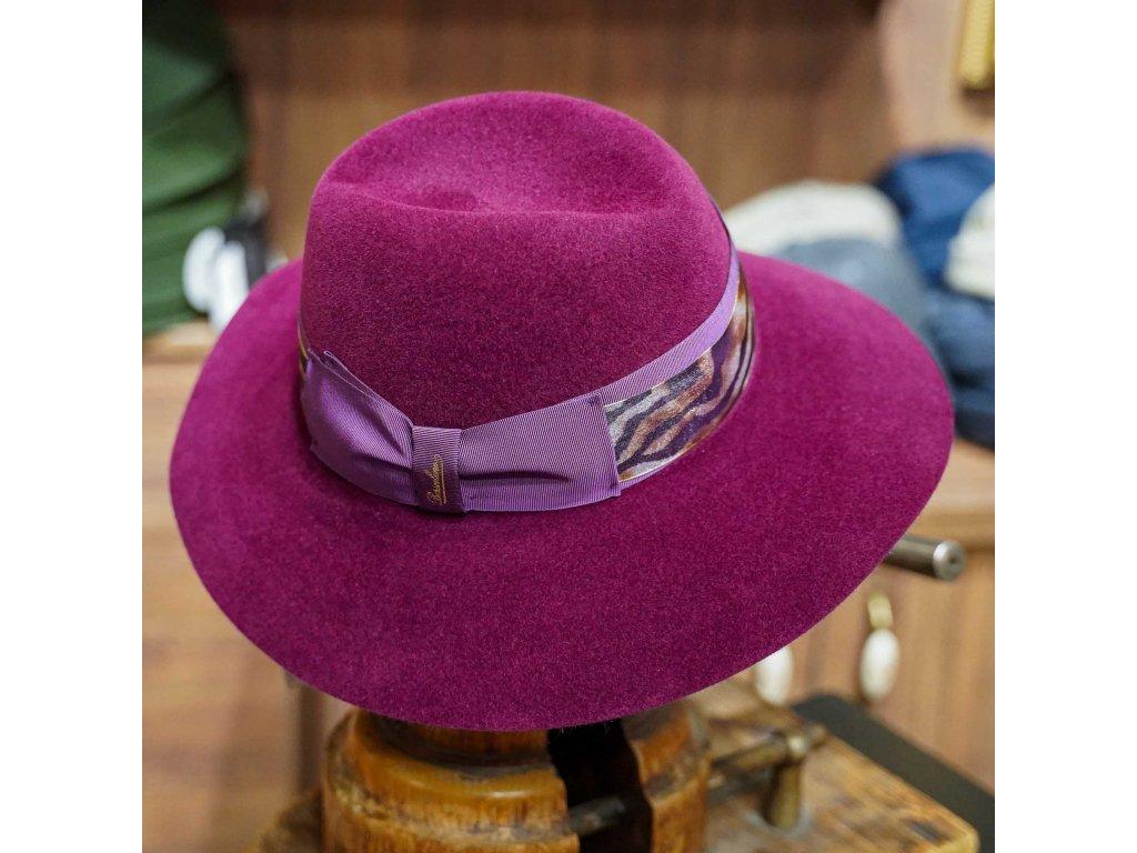 Zebra Claudette - dámský klobouk Borsalino