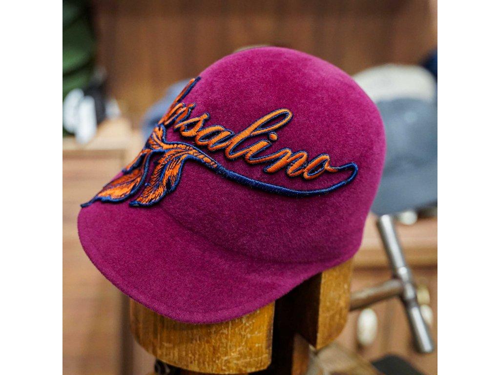 Luxusní plstěná kšiltovka Borsalino - Art Nouveau Baseball