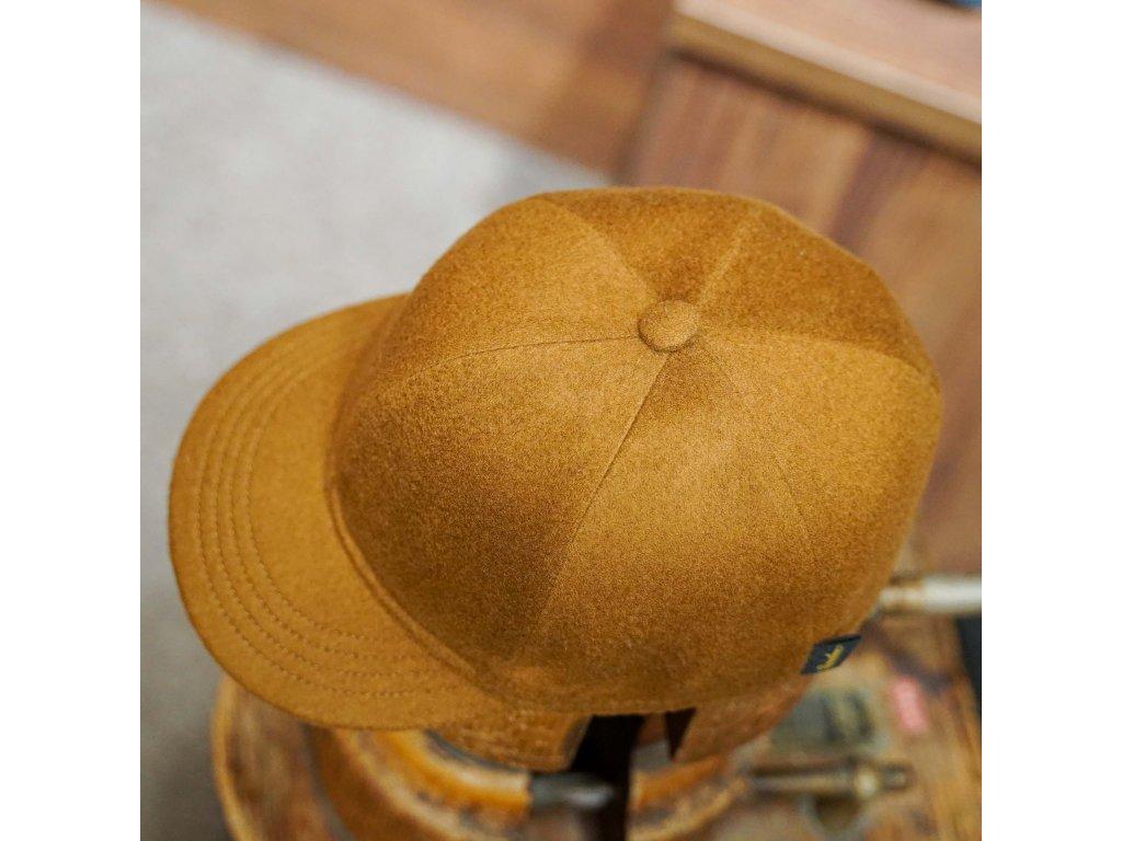 Kašmírová čepice - pocket cap Borsalino