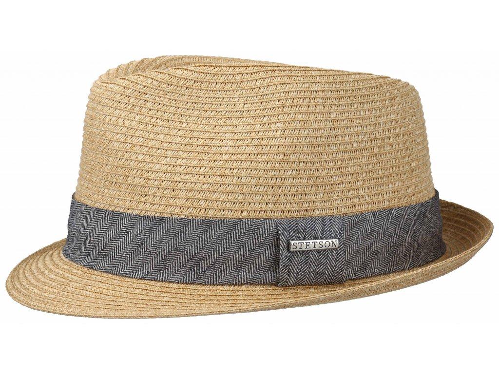Slaměný klobouk Trilby Toyo - Stetson / 1238534