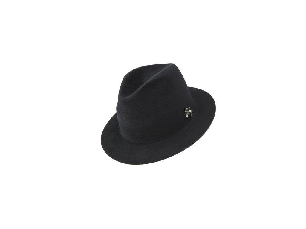 Unisex plstěný klobouk zdobený bižuterií - Tonak 41112/16