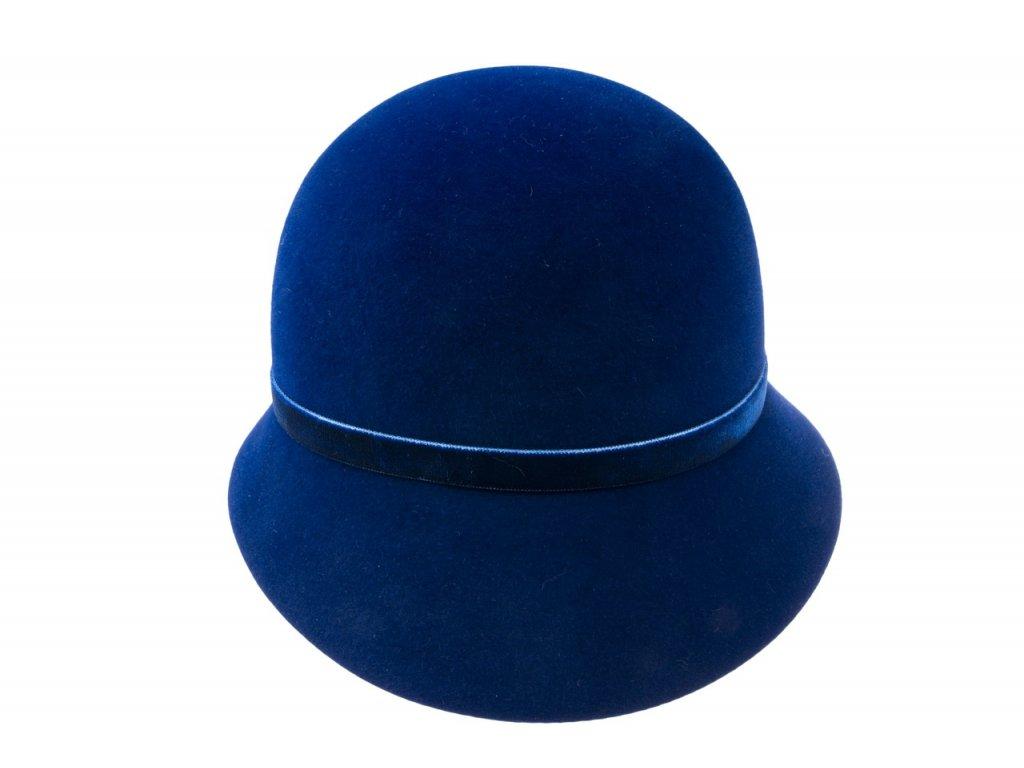 Klobouček modrý cloche Tonak 52725/14