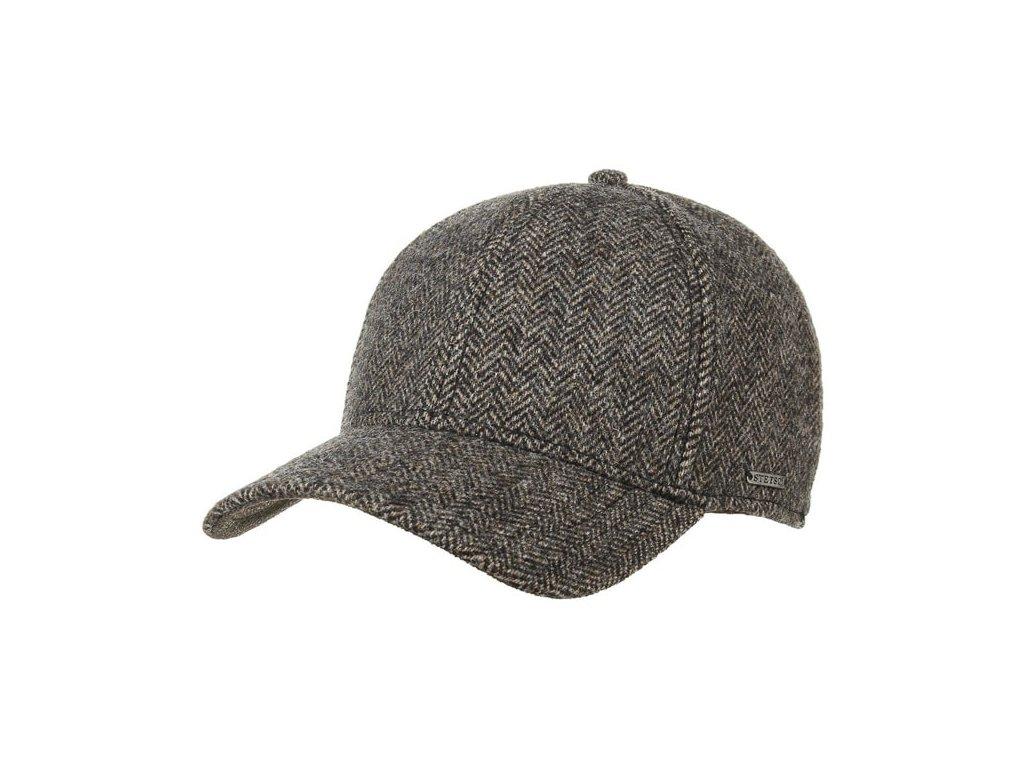 Vlněná klasická kšiltovka Stetson Baseball Cap wool