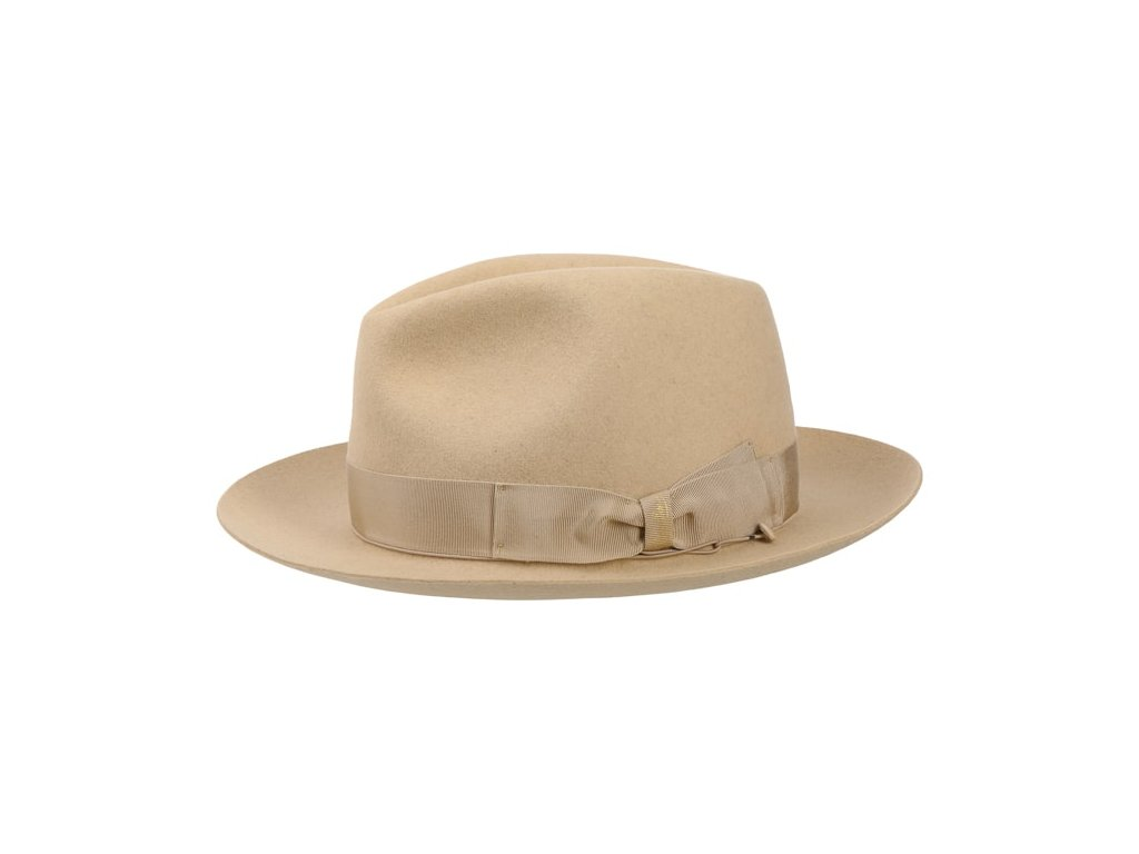 50 Grams Men s Fedora Hat by Borsalino.44007 6pf15