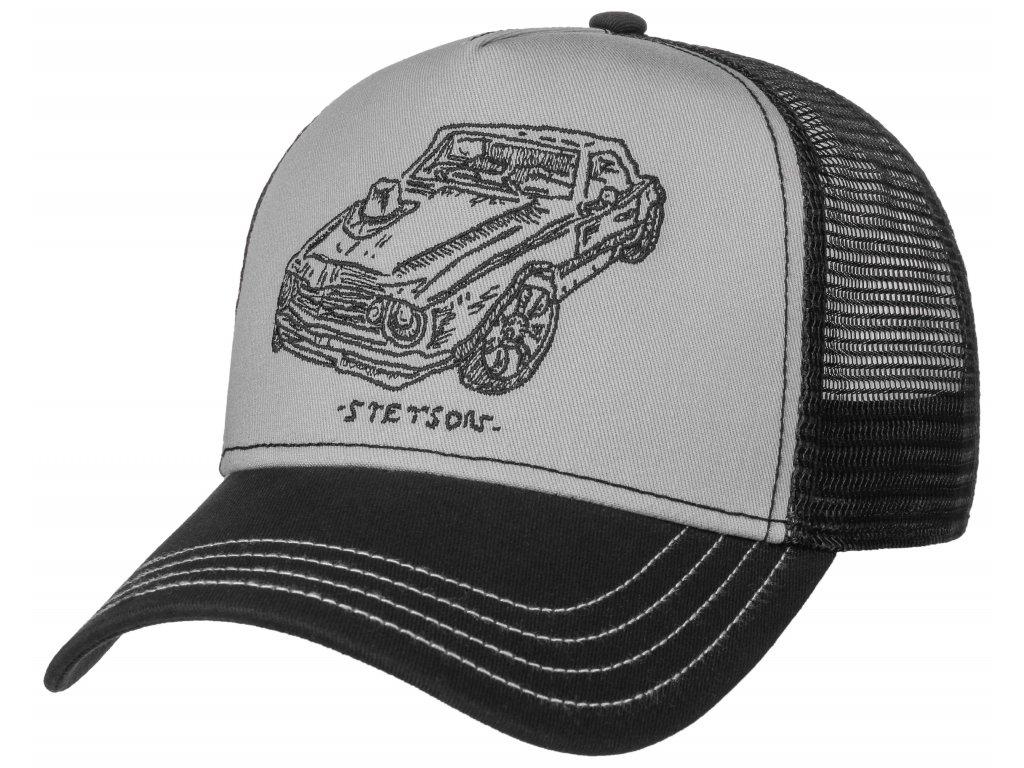 Kšiltovka Stetson Muscle Car and Hat - 7751162