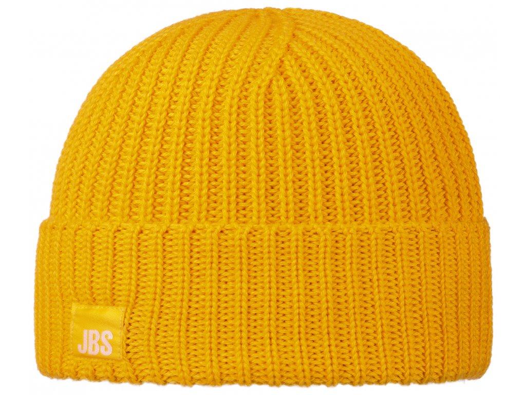 Žlutá vlněná čepice Stetson vlna merino 8599344