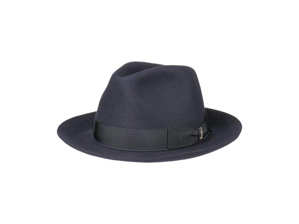 borsalino klobouk luxusni modry