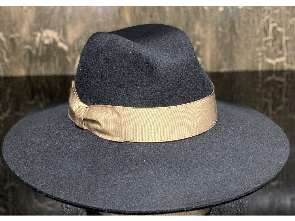 borsalino damsky cerny klobouk