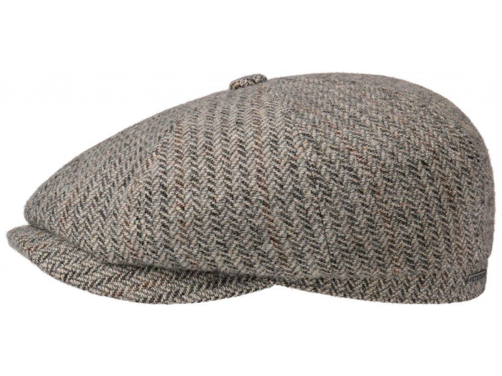 Bekovka Hatteras od Stetson 6840510  100 % vlna - Hatteras Virgin Wool Herringbone