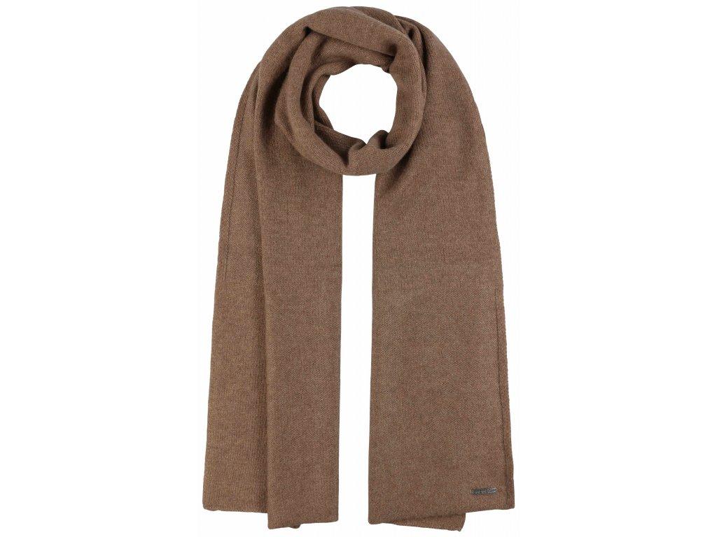 Camel (barva velbloudí srsti)  kašmírová šála od Stetson - 9199206