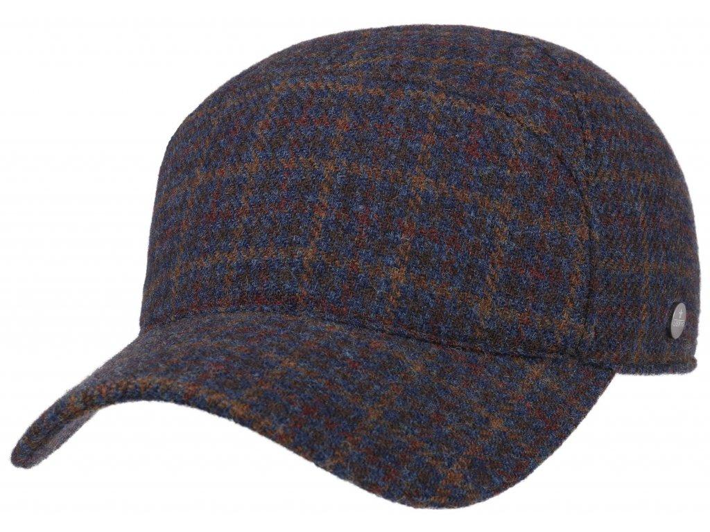 Vlněná klasická kšiltovka od Lierys- Baseball Lambswool/Shetland by Lierys - 7710401