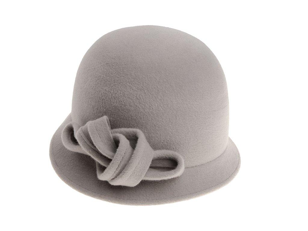 Dámský šedý klobouk 53516/18