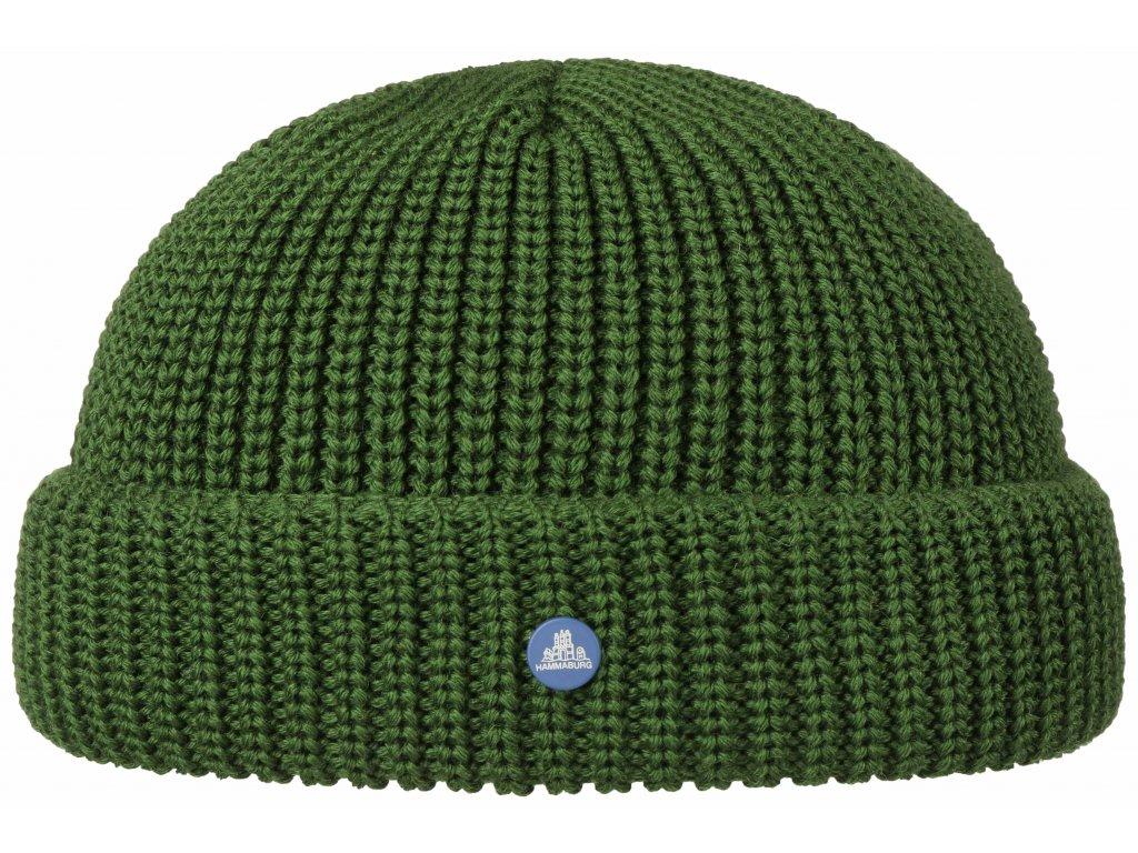 Pletená zimní zimní čepice Stetson - Beanie Hammaburg  - 8599329 - Docker Cap