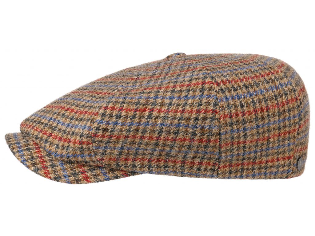 Pánská hatteras bekovka Lierys - 8-Panel Cap Lambswool/Shetland by Lierys - 6810403