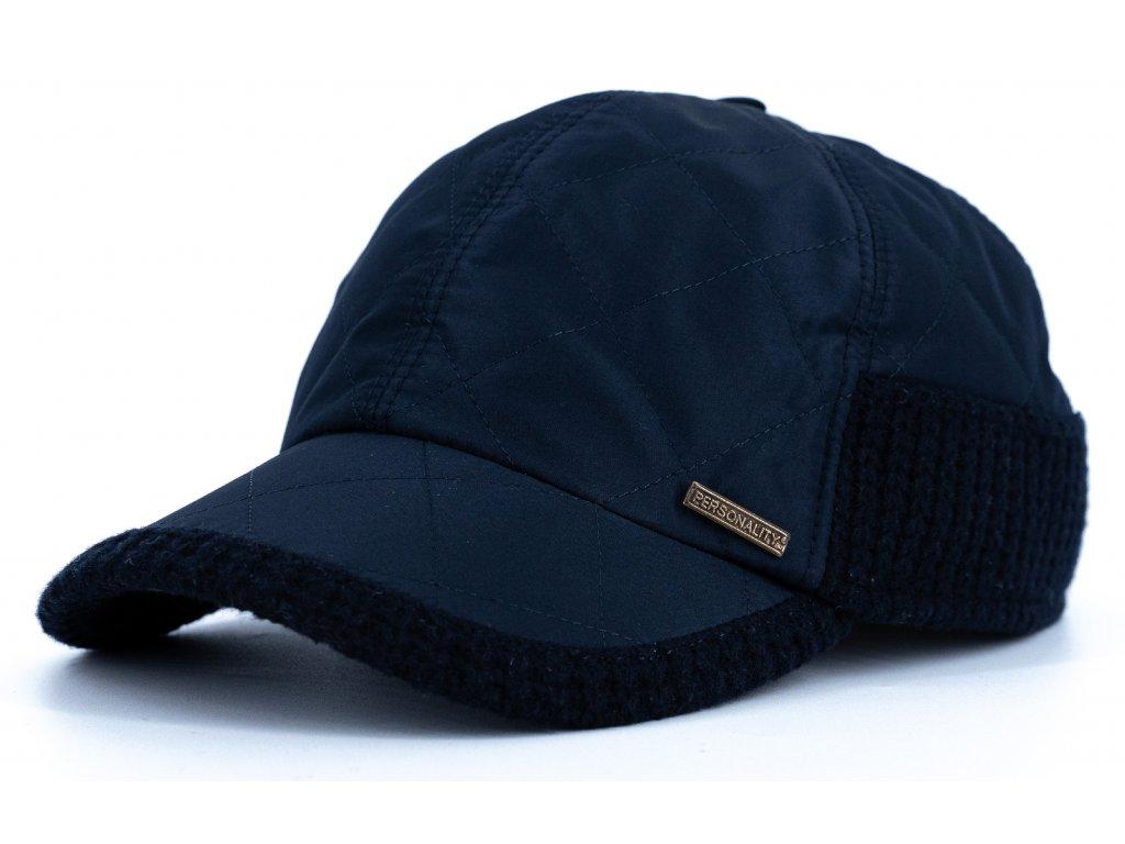 Kšiltovka nepromokavá modrá, kombinovaná vlna - Personality