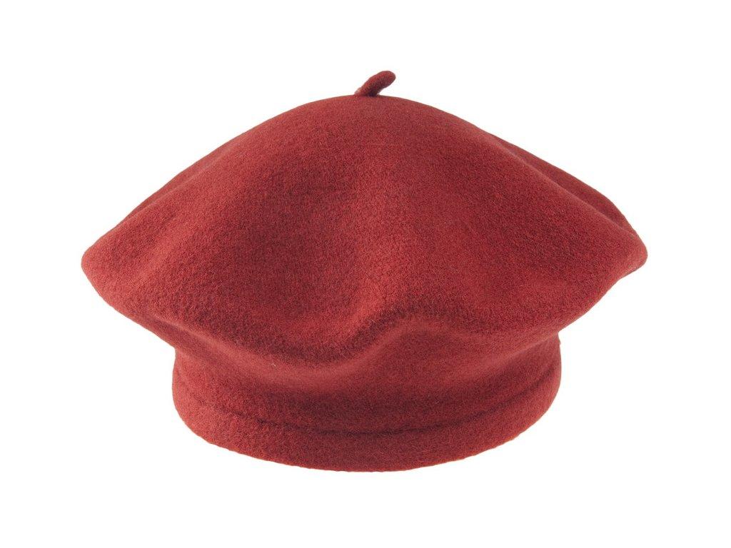 Baret červený dámský - Flora Tonak 030876