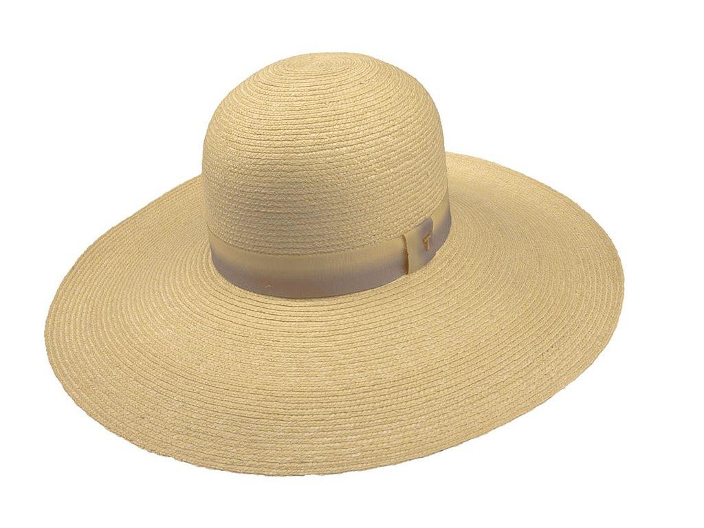Velký slaměný letní klobouk Tonak - 35028 - Big brim hat
