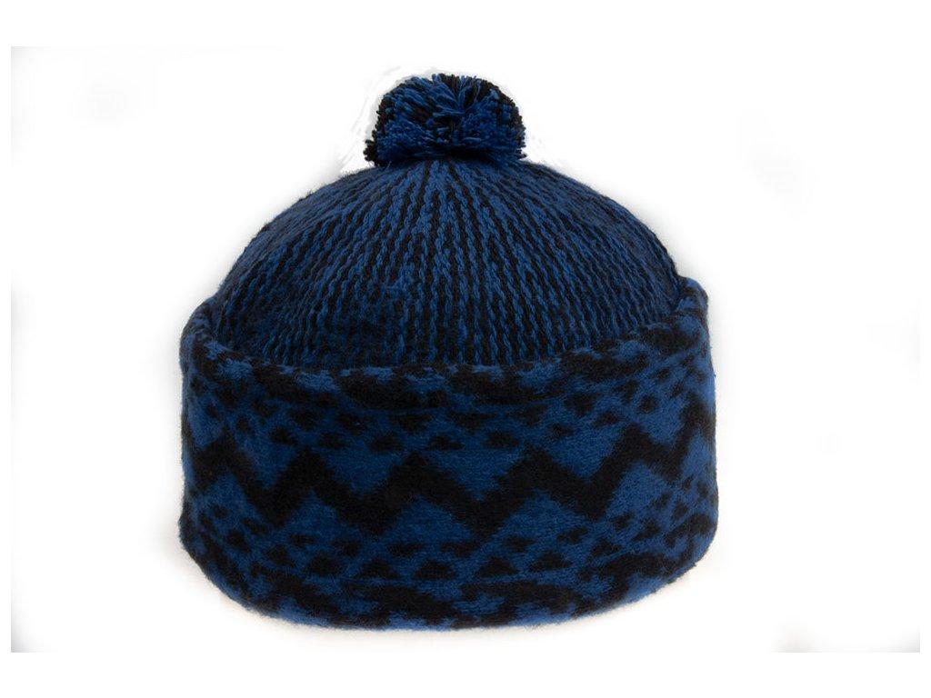 Triton 011 014007 pletena cepice zmijovka modra