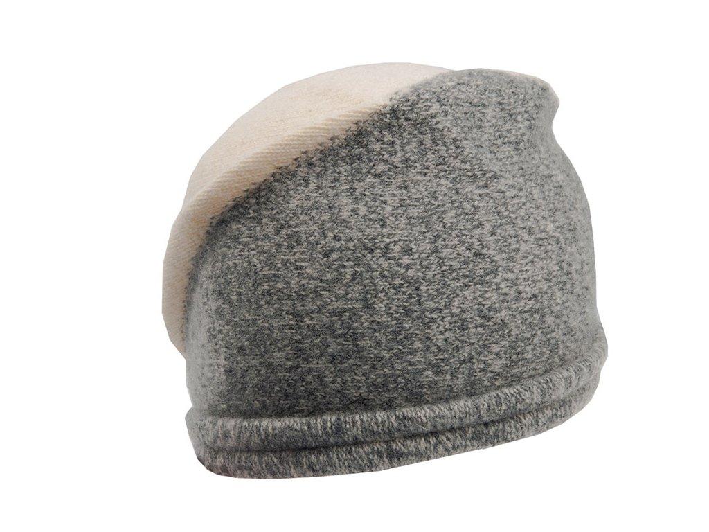 Vlněný klobouček - Tonak Orkaso - smetanová barva