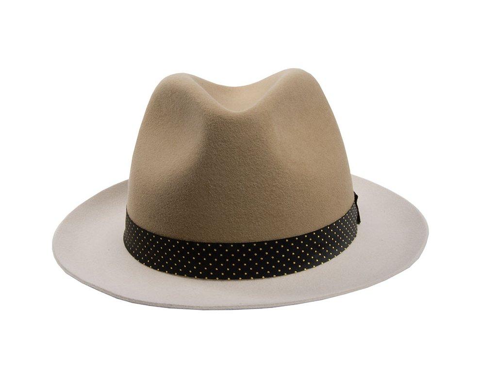 Dvoubarevný plstěný klobouk Tonak 12731/18
