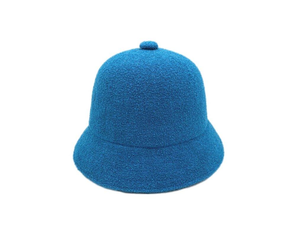modry bucket hat