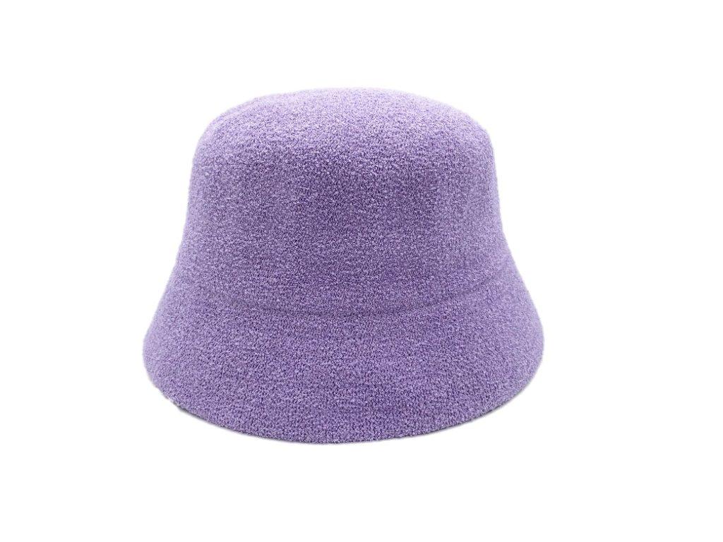 fialovy klobouk letni