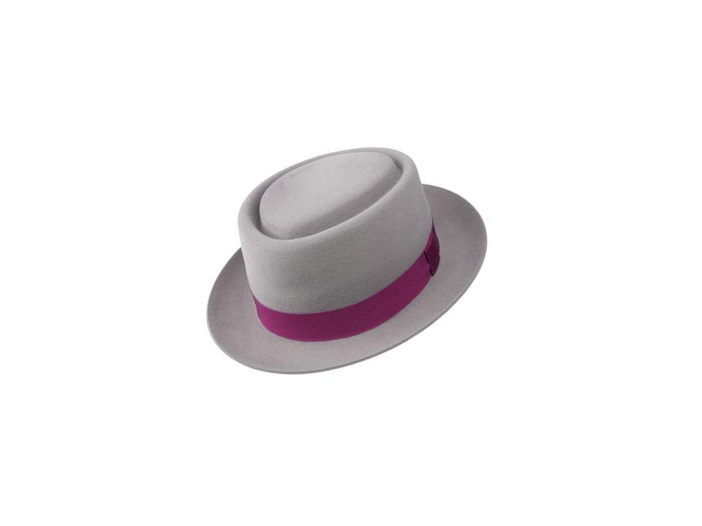 Plstěný klobouk porkpie - Tonak 41113/16