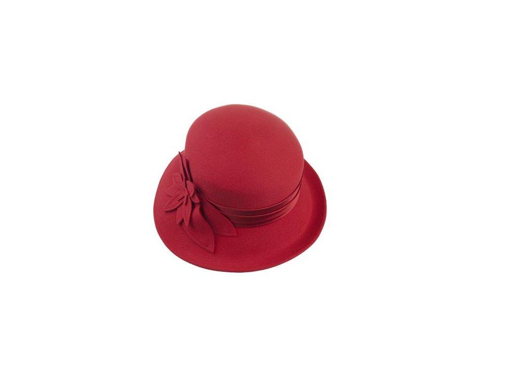 Dámský červený klobouček - Tonak 50122/03