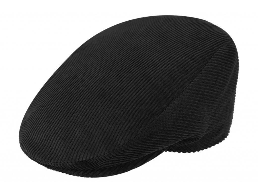 Pánská černá manšestrová jarní bekovka s prošívanou nepromokavou podšívkou