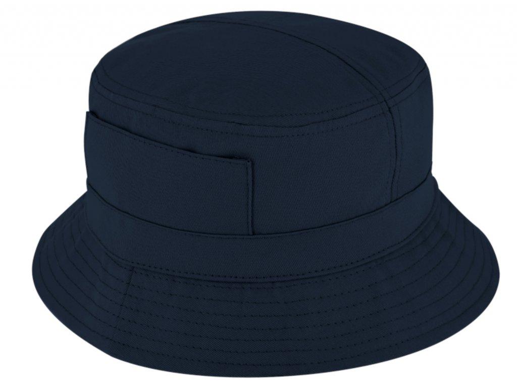 Modrý bucket hat - Fiebig - rybářský klopený klobouk