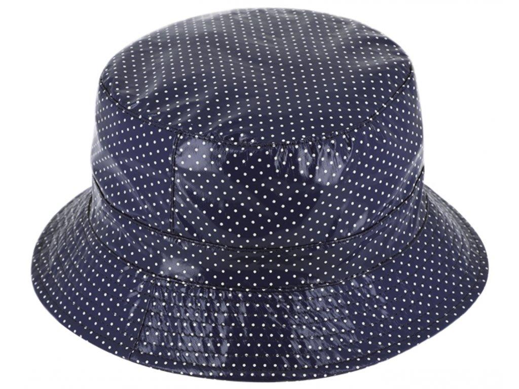 Dámský nepromokavý klobouk - modrý - Bucket Hat