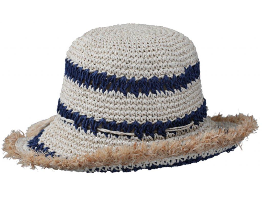 Dámský letní dvoubarevný klobouk Cloche