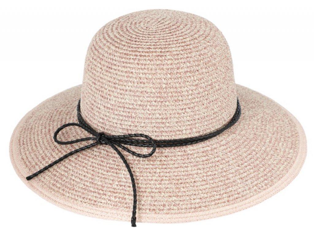 pudrovy letni klobouk