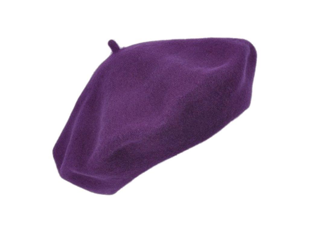 Baret fialový dámský - Flora - 040709