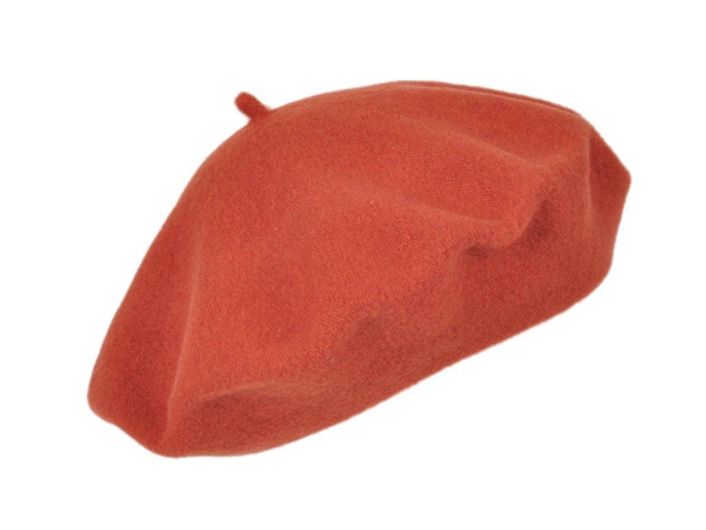 Baret oranžový dámský - Flora - 070548